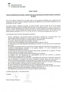 Ban Terrasses Agost-Setembre 2018