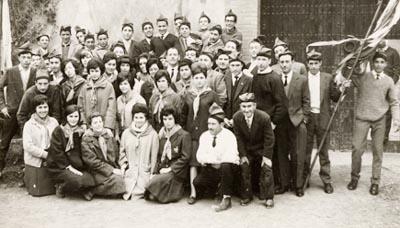 Grup de caramelles l'any 1964