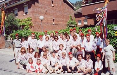 Grup de caramelles l'any 2001