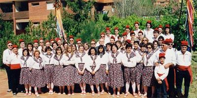 Grup de caramelles l'any 1994