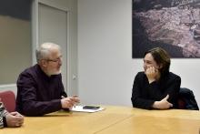 La presidenta de l'AMB, Ada Colau, es reuneix amb l'alcalde Xavier González i l'equip de govern