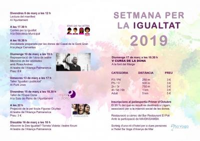 Programa de la Setmana per la Igualtat