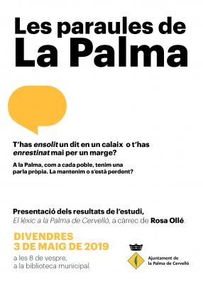 Les paraules de la Palma