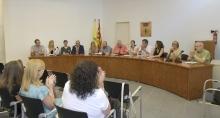 Ple de constitució del nou Ajuntament