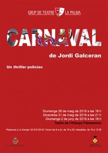 Carnaval, de Jordi Galceran (Maig 2019)