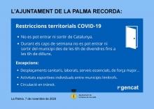 Restriccions territorials