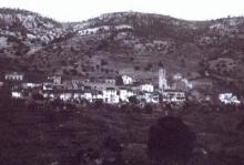 Vista general de la Palma. Any 1950